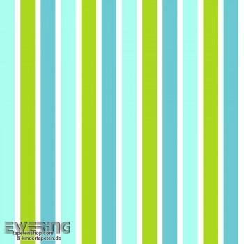 Streifen Blau Vlies