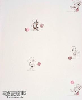 Cream White Teddy Bear wallpaper