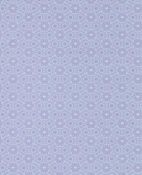 Purple shimmer pattern wallpaper flowers