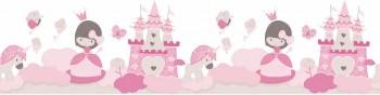 border pink princess girl