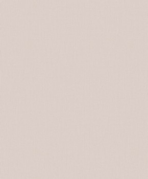 Non-woven wallpaper powder pink uni