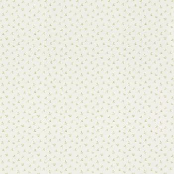 Weiß Vlies Tapete Grün Blätter