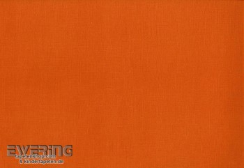 Vliestapete Uni Dunkel Orange