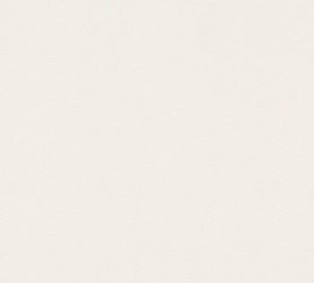 wallpaper light beige uni non-woven