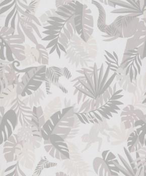 jungle non-woven wallpaper beige