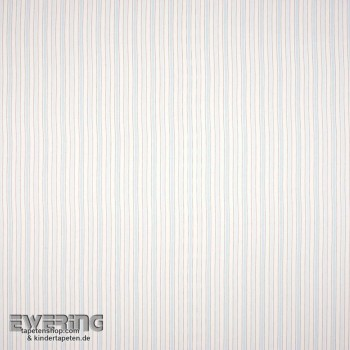 Stripe pattern decorative fabric light blue