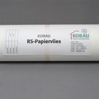 RS-paper non-woven 3-40820 Kobau 130 fleece impregnated Renovation -woven back- woven wallpaper slippery white interior smooth wallpaper