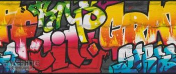 Graffiti Schwarz Papierborte