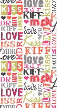 wallpaper Bunt Love girl