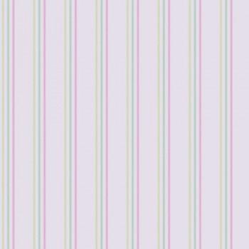 SALE set of 2 stripes pastel-pink-green