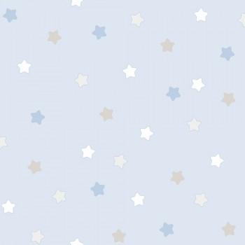Tapete Sterne Blau Kinder Lullaby
