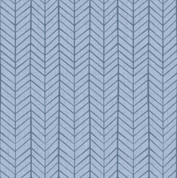 Tapete Blau Muster Jungszimmer
