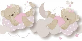 Borte Bärchen Wolken Rosa Mädchen