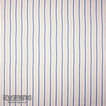Decoration fabric stripes jeans blue