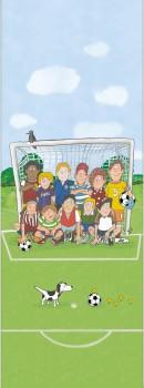 Mural Football Colorful