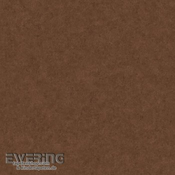 Used Look Rust-Brown Uni non-woven Wallpaper