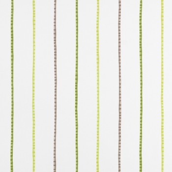 Decoration fabric green stripes