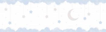 Borte Wolken Sterne Blau Lullaby