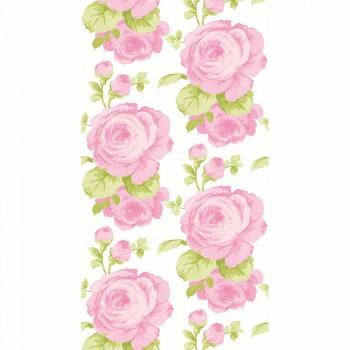 Wandbild Vlies Blumen Rosa