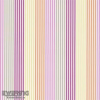 Yellow decorative fabric stripe pattern