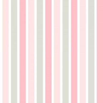 Tapete Streifen Pink Beige