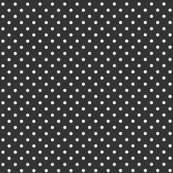 Punkte Schwarz-Weiß Vlies Tapete