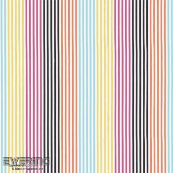 Decoration fabric coloured stripes