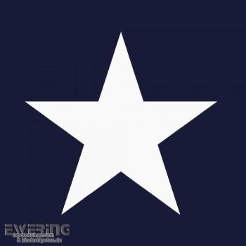 Stern Vlies Dunkel-Blau