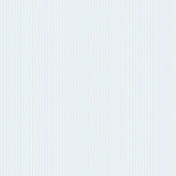 Wallpaper narrow stripes bright blue