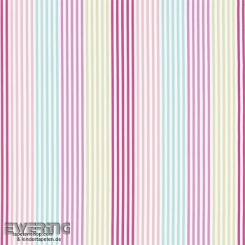 Pink decorative fabric stripes