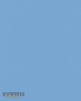 Marburger Tapeten Kunterbunt 6-57215 Vliestapete blau Uni