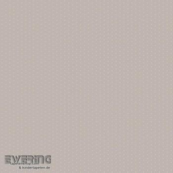 Gepunktet Deko-Stoff Beige-Grau
