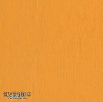 Orange Uni Papiertapete Glänzend