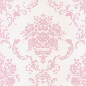 Vlies-Tapete Pink Mädchen Ornamente