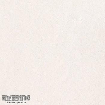 Creme-Weiß Uni Papier-Tapete