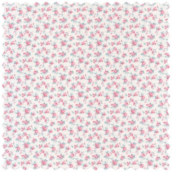 Pink Flower Decoration Fabric