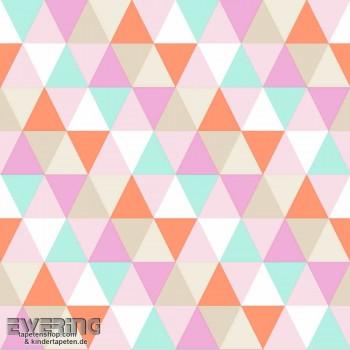 Dreiecke Vlies Bunt