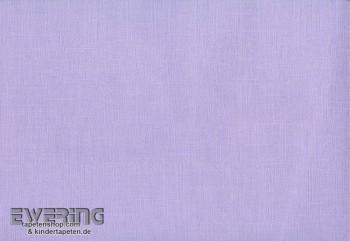 Non-woven wallpaper uni lilac youth room