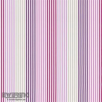 Decoration fabric pink stripes