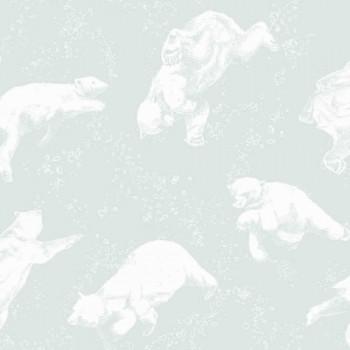 Polar Bear Wallpaper Mint