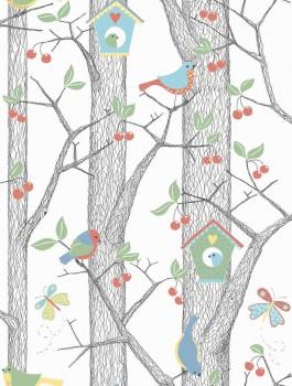 Baum-Tapete Wald