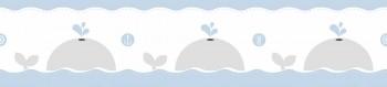 Borte Wale Blau Babyzimmer Lullaby