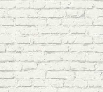 wallpaper white-grey wall look