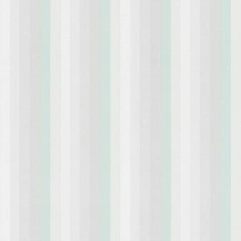 Vliestapete Mint Grau Streifen