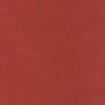 Vlies-Tapete Mädchen Uni Rot