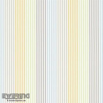 Beige decorative fabric stripes