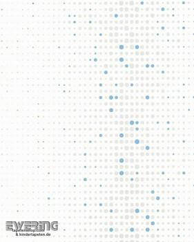 Marburger Tapeten Kunterbunt 6-57239 Vliestapete weiß Muster