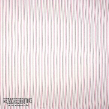 Pink decorative fabric stripes girl