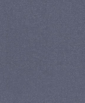non-woven wallpaper fine speckled uni blue