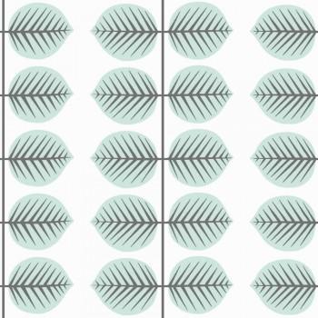 Blue Leaf Wallpaper